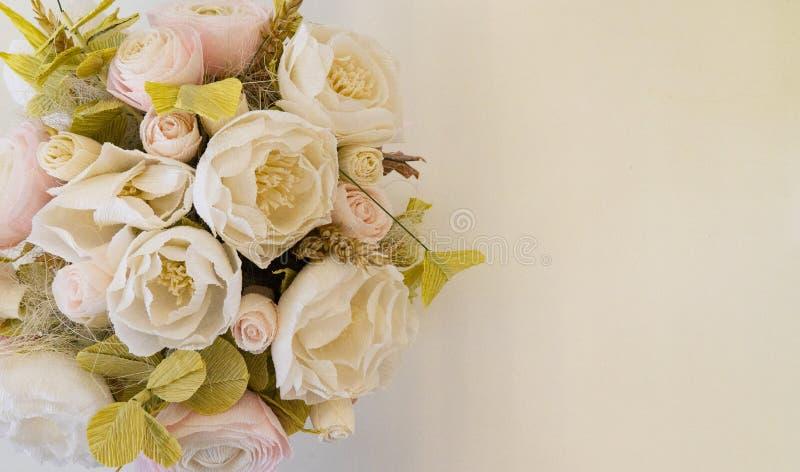 Las flores colocan para la inscripción fotos de archivo