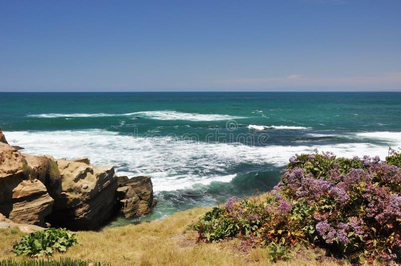Opinión costera de San Diego fotografía de archivo libre de regalías