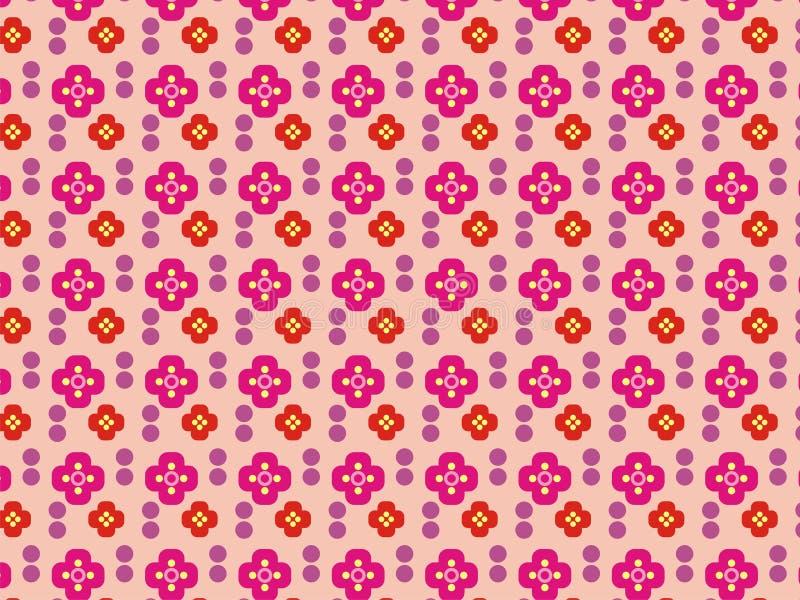 Las flores papel pintado y contexto de color rosa oscuro fotografía de archivo