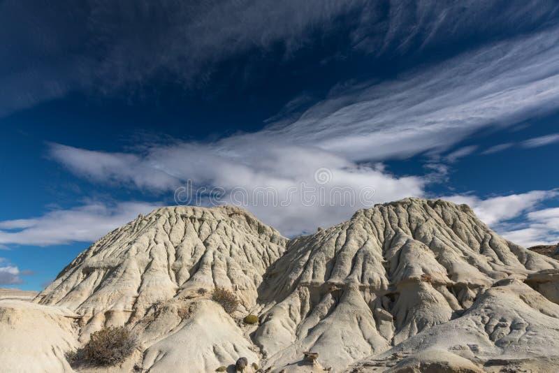 Las formaciones de roca hermosas acercan al EL Calafate fotografía de archivo