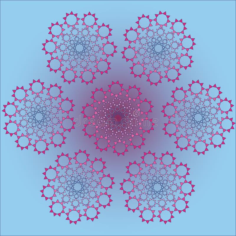 Las formas de neón del vector, se pueden utilizar como modelo stock de ilustración