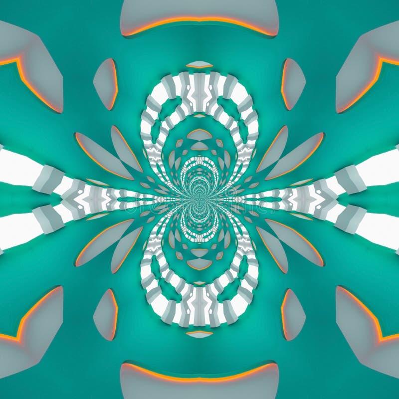 Las formas preciosas diseñan en futuro El drenaje de la ilusión imagenes de archivo