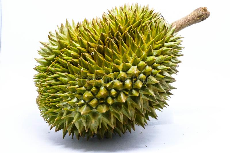 Las frutas tailandesas se llaman durian imagen de archivo