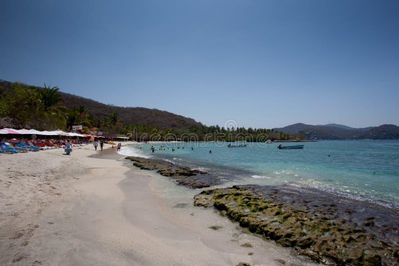 Las Gatas Playa стоковая фотография rf
