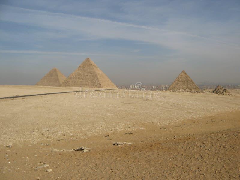 Las grandes pirámides fotografía de archivo libre de regalías