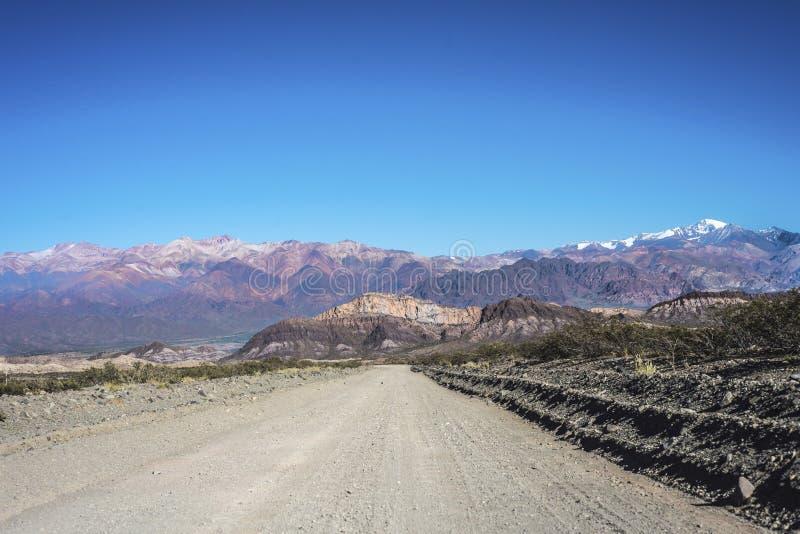 Las Heras的部门在Mendoza,阿根廷 库存照片