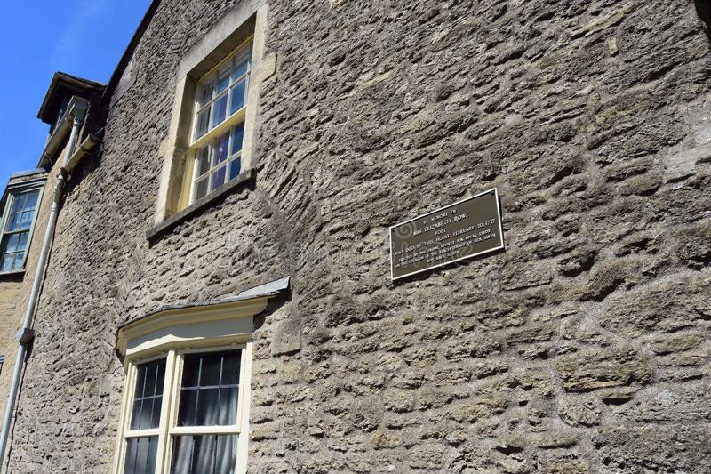 Las históricas cabañas de Sheppards Barton, Frome, Somerset, Inglaterra foto de archivo libre de regalías