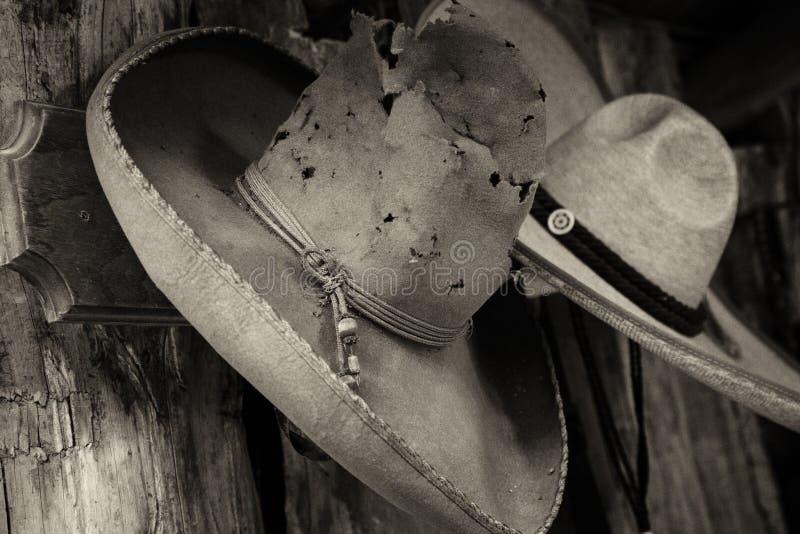 Las historias que este sombrero podría contar fotografía de archivo