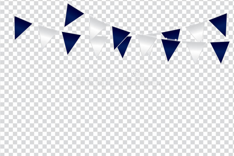 Las ideas triangulares del color de la bandera diseñan el ejemplo en el transporte foto de archivo libre de regalías