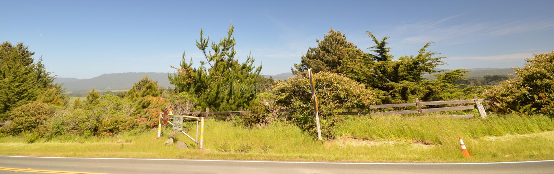 Las impresiones del centro turístico de Pointe del faro encaminan ningún 1, California los E.E.U.U. fotos de archivo libres de regalías