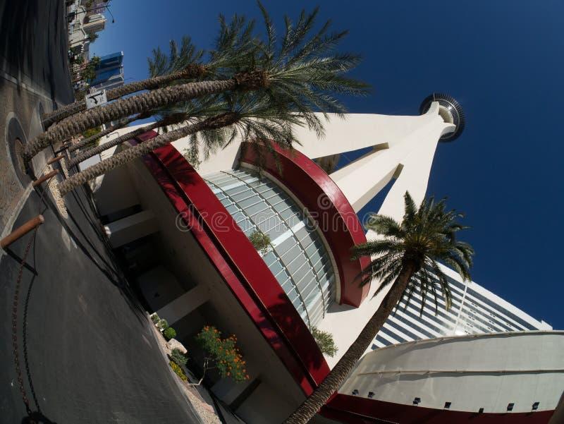 las kasynowa hotelowa stratosfera Vegas zdjęcia stock