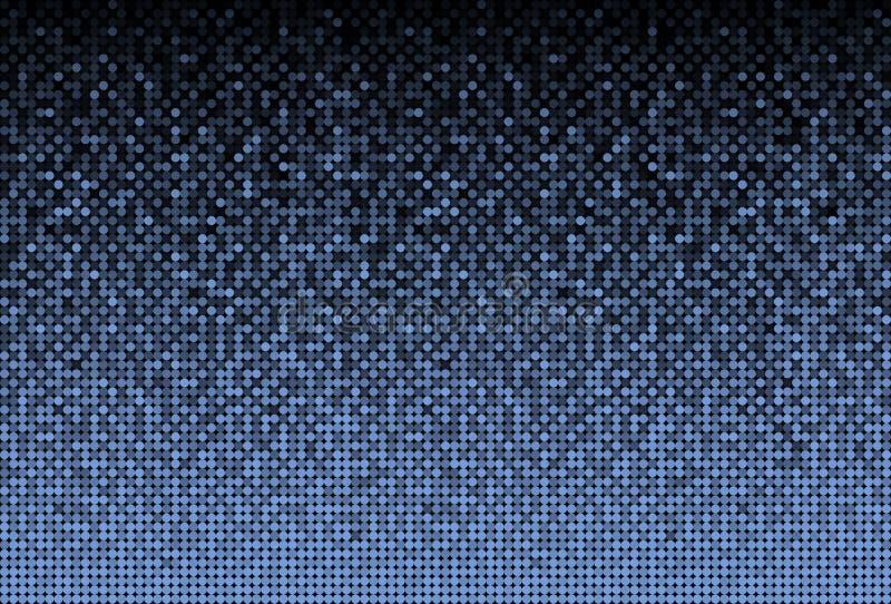 Las lentejuelas azules de la bandera, brillo, chispa, trasera ilustración del vector