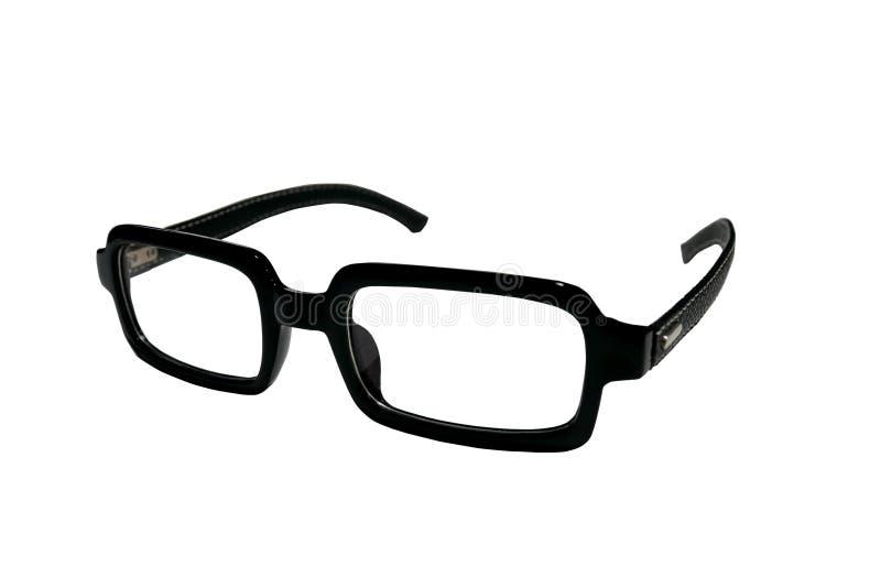 Las lentes negras son cuadrado foto de archivo libre de regalías