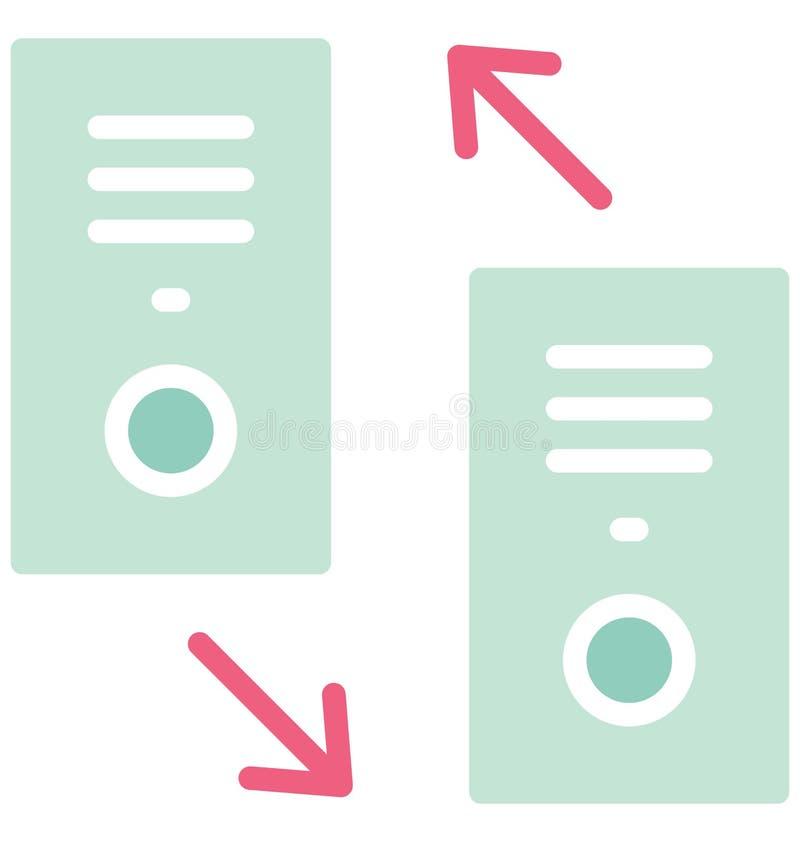 Las llamadas marcadas y recibidas aislaron el icono del vector que puede modificarse o corregir fácilmente ilustración del vector