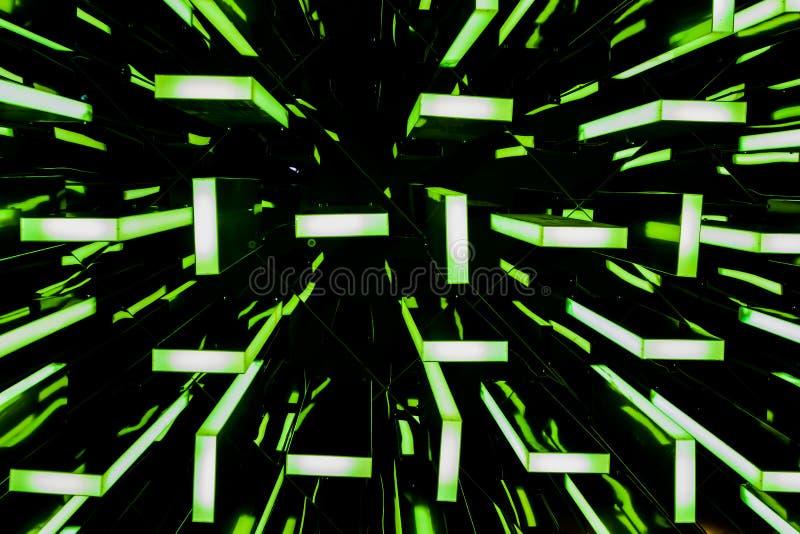 Las luces coloridas fotografía de archivo