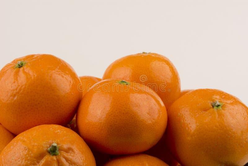 Las mandarinas se cierran para arriba fotos de archivo