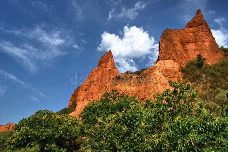 Download Las Medulas Ancient Roman Mines Stock Photo - Image: 73914180