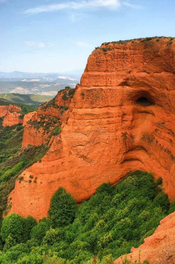 Download Las Medulas Ancient Roman Mines Stock Image - Image: 73914195