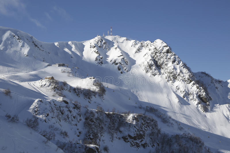 Las montañas imagen de archivo libre de regalías