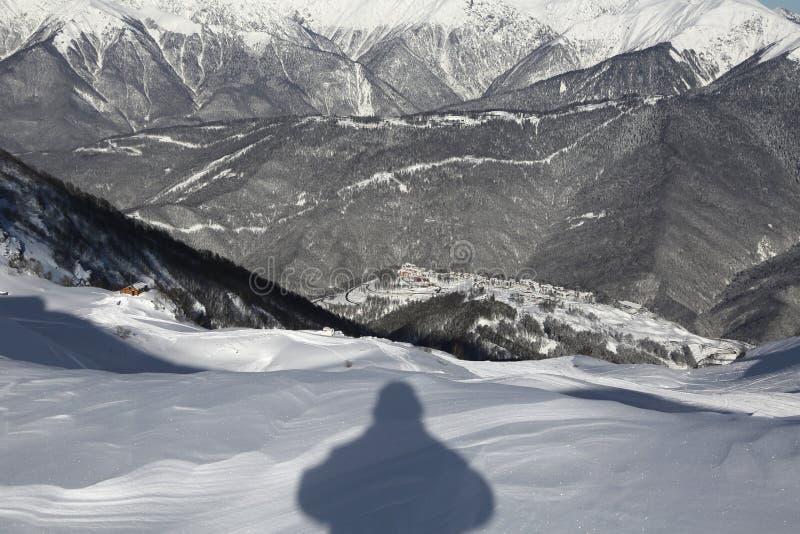 Las montañas foto de archivo libre de regalías
