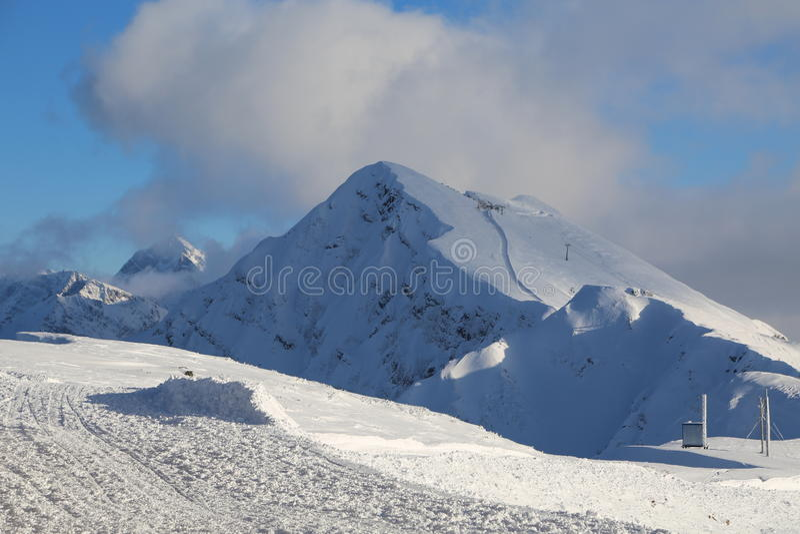 Las montañas imagenes de archivo