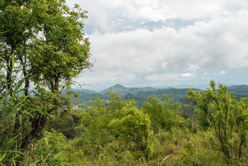 Las montañas de Tailandia foto de archivo