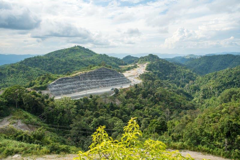 Las montañas de Tailandia imagen de archivo