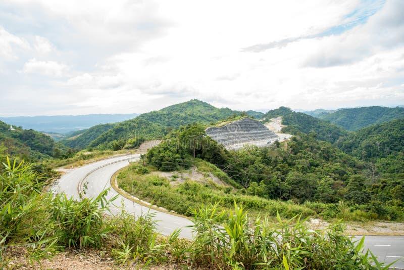 Las montañas de Tailandia fotografía de archivo