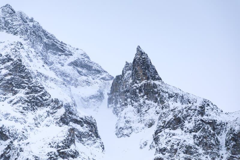 Las montañas de Tatras imágenes de archivo libres de regalías