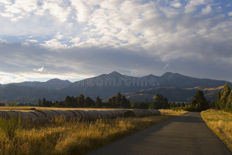 Las montan@as meridionales Nueva Zelandia imágenes de archivo libres de regalías