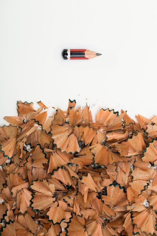 Las muestras de la tensión usadas dibujan a lápiz imágenes de archivo libres de regalías