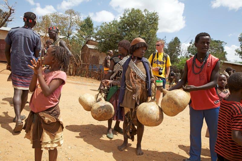 Gente africana fotografía de archivo