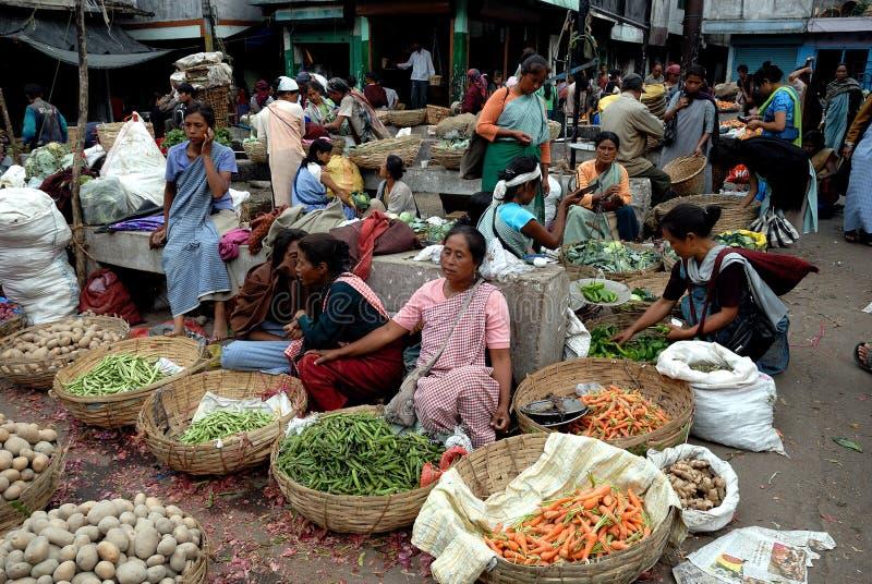 Las mujeres ponen en la India foto de archivo libre de regalías