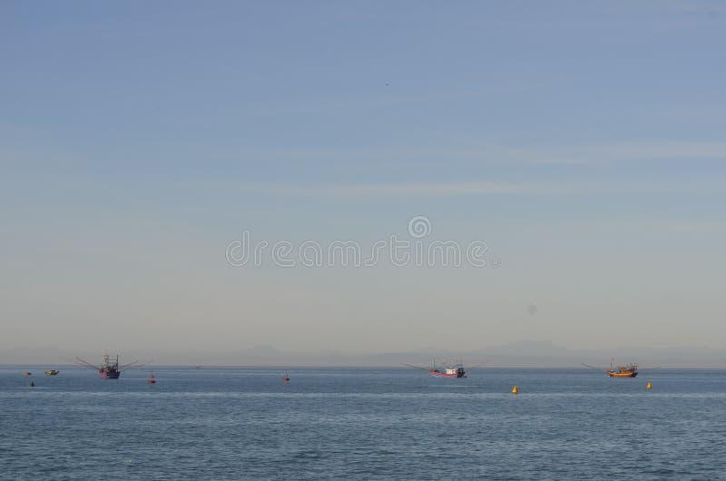 Las naves en el mar foto de archivo libre de regalías