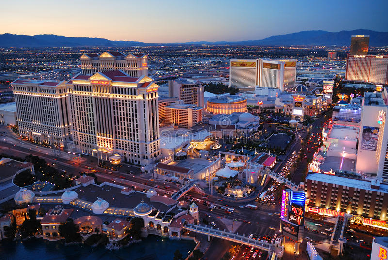 las Nevada Vegas zdjęcie royalty free