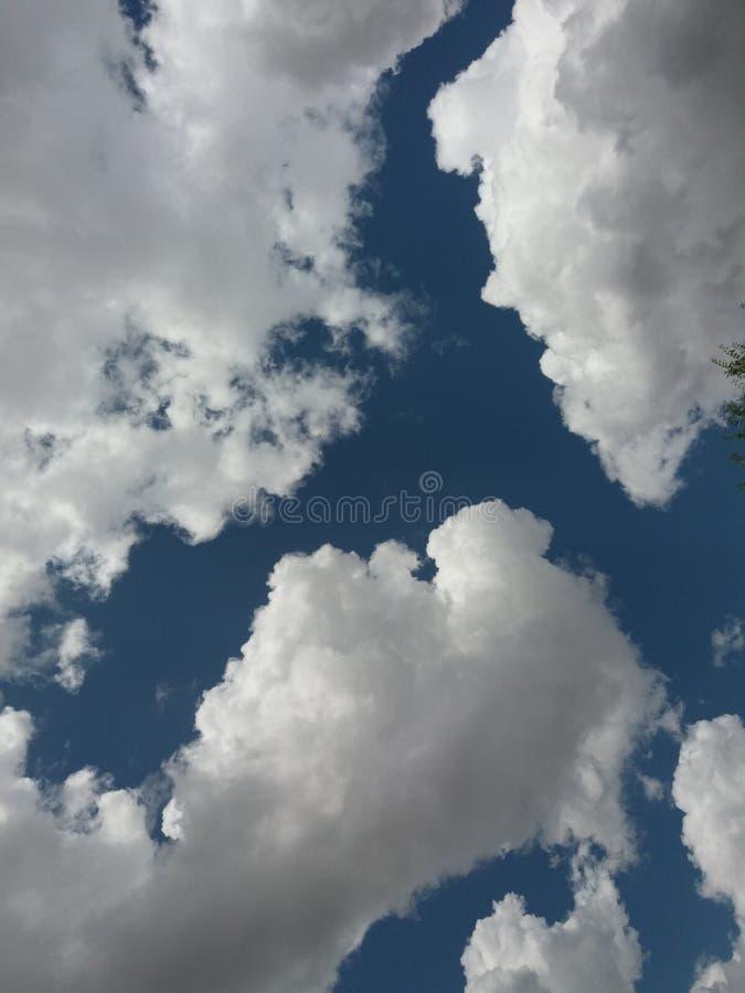 Las nubes son ¤ impresionante del  del â foto de archivo libre de regalías