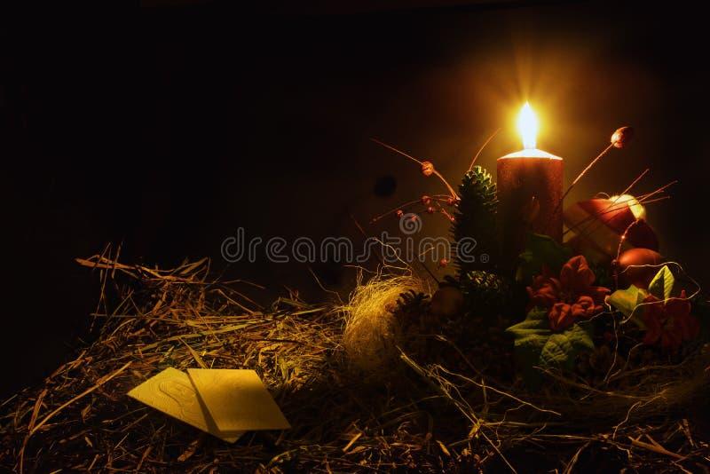 Las obleas de la Navidad se calientan fotos de archivo