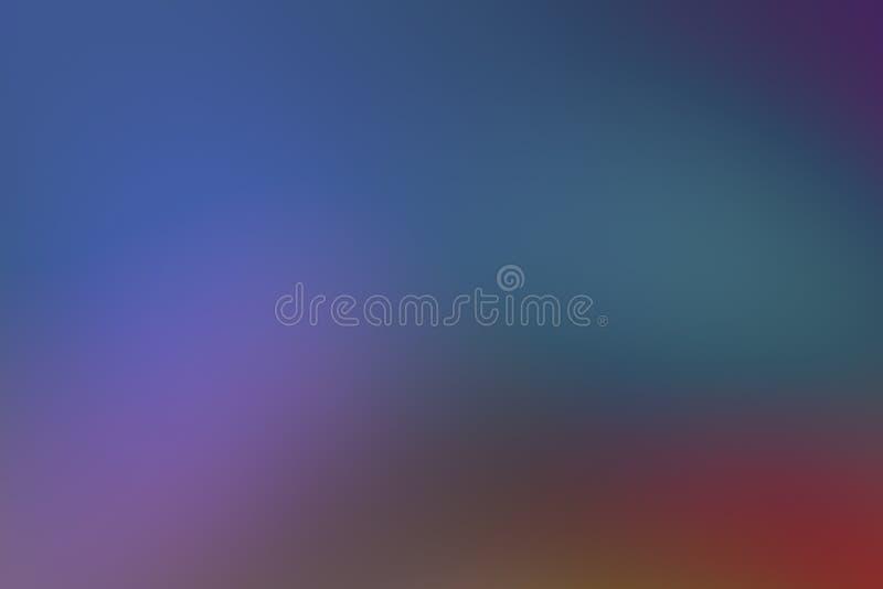 Las ondulaciones azul marino de la pendiente ponen verde la aguamarina que entona la postal p?rpura del arte de la base del conte libre illustration