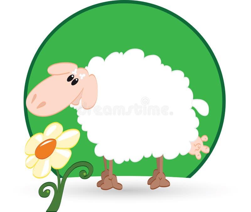 Download Las ovejas stock de ilustración. Ilustración de blanco - 42425441