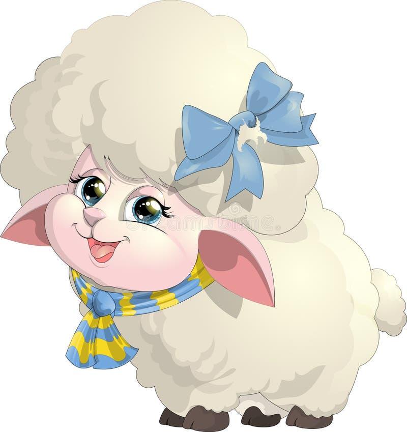 Las ovejas ilustración del vector