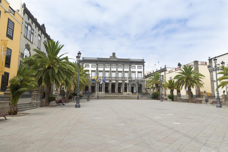 Las Palmas fotografia stock libera da diritti