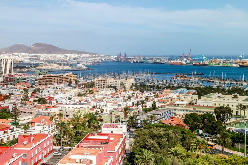 Las Palmas de Gran Canaria。 西班牙 图库摄影