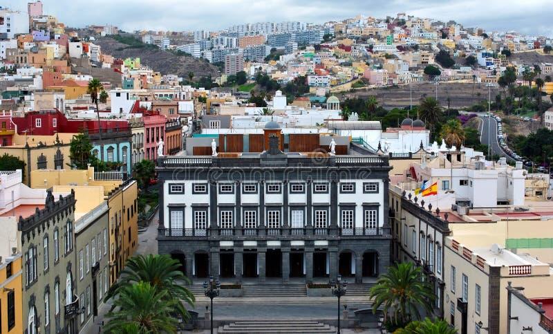 Download Las Palmas de Gran Canaria stockbild. Bild von geschichte - 27731097