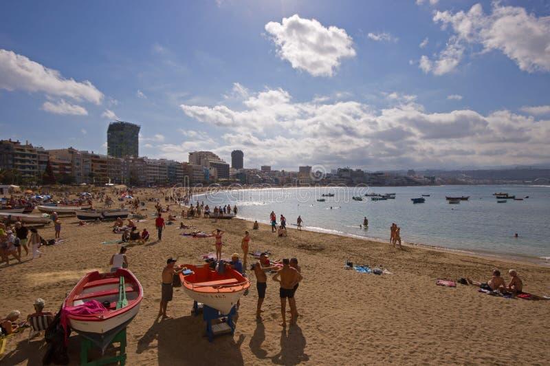 Las Palmas de Gran Canaria imagens de stock