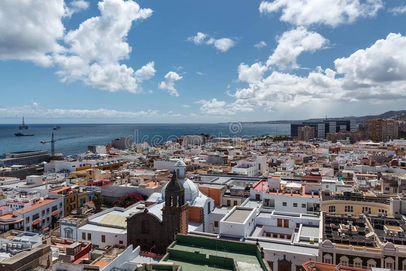 Las Palmas de Gran Canaria Las islas Canarias fotografía de archivo libre de regalías