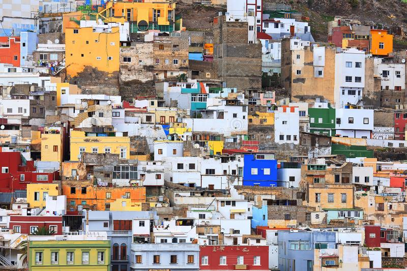 Las Palmas DE Gran Canaria royalty-vrije stock afbeeldingen
