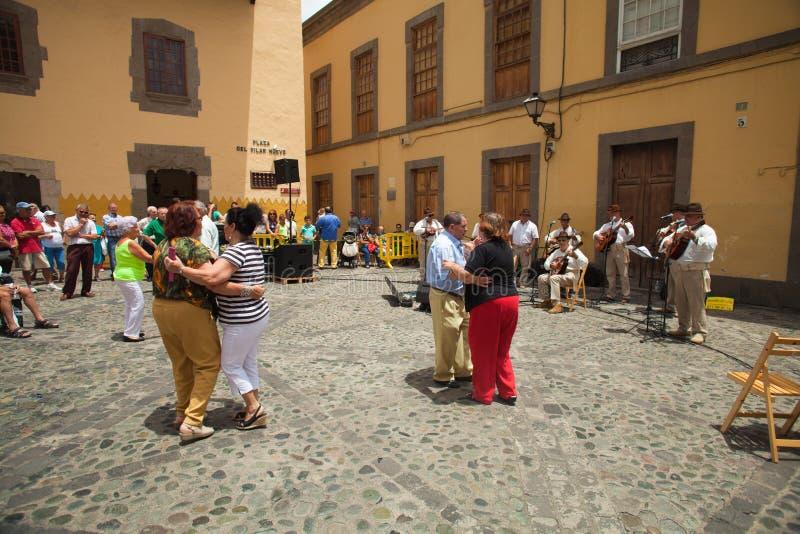 Las Palmas De Gran Canaria, Stary miasteczko fotografia stock