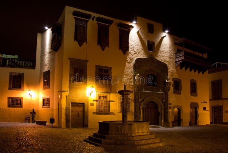 Las Palmas De Gran Canaria, Styczeń 2015 zdjęcie stock