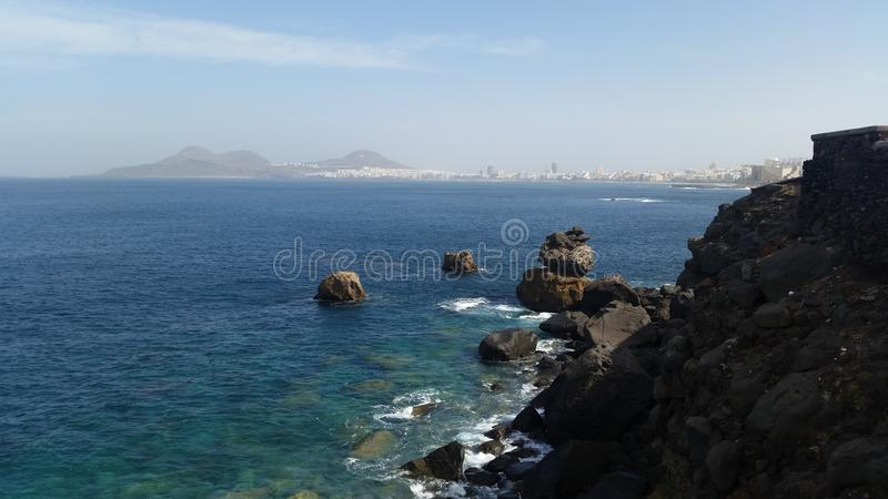 Las Palmas Gran Canaria obraz stock