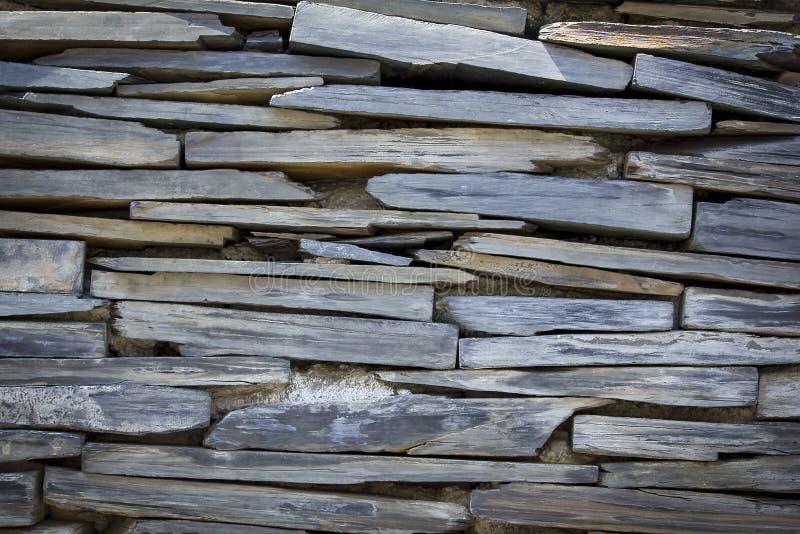 Las paredes del granito se apilan varias capas fotos de archivo libres de regalías